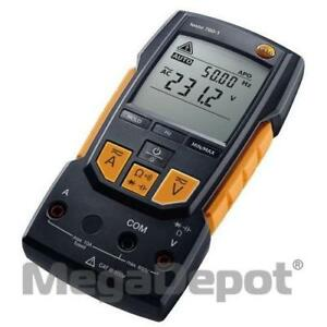 Testo 0590 7601 760 1 Digital Multimeter 600 V With Auto test And Capacitance