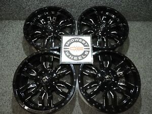 Avalanche 6 Lug Fuel Sledge Wheels Rims 20 20x9 6x139 7 20mm D59520909857