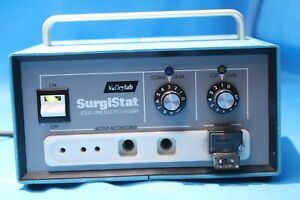 Surgistat B Electrosurgical Generator Valley Lab