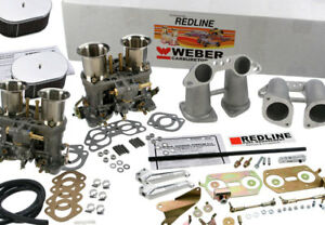 Weber Carburetor Kit Porsche 914 Vw Bus Type 2 Type 4 Dual 44idf Weber Kit
