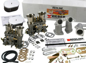 Weber Carburetor Kit Porsche 914 Vw Bus Type Ii Type Iv Dual 48idf Weber Kit
