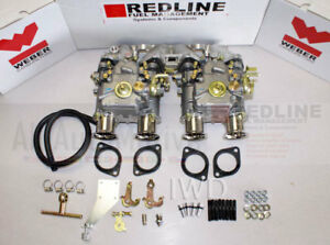 Vw Rabbit Golf Scirocco Dasher Vw Dual 45 Dcoe Weber Carburetor Kit 8v Engines