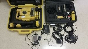Topcon Gpt 8003a 3 Reflectorless Robotic Total Station W Satel 3asd Tds Recon