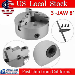 8 8 Inch 3 Jaw Self Centering Lathe Chuck Front Mount In Prime Quality Ouy