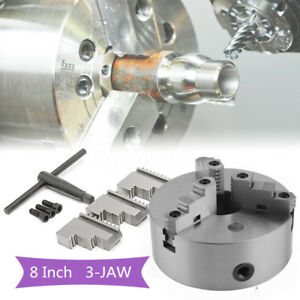 8 8 Inch 3 Jaw Self Centering Lathe Chuck Front Mount In Prime Quality Hp
