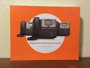 New In Box Cisco Spa 303 3 line Small Business Phone Spa 303 g1 Ring Central Att
