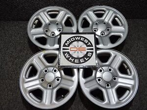 2007 2017 Jeep Wrangler 16 Factory Oem Wheels Grand Cherokee 99 04 6 Cyl 7