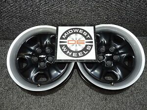 2010 2016 Camaro 18 Factory Oem Steel Wheels 18x7 5 5x120 X2 Great Winter Pair