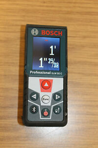 Bosch Laser Blaze 165 Foot Measure Tool Professional Glm 50 C Slightly Used 2016