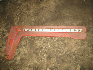 Massey Ferguson 50 Tractor Left Hood Panel
