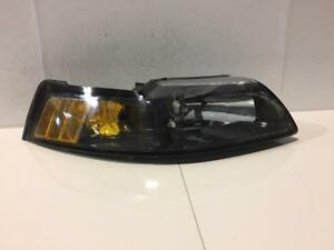 2001 2004 Ford Mustang Passenger Right Head Light Assembly Oem 5