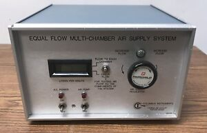 Columbus Instruments Equal Flow Unit Multi chamber Air Supply System