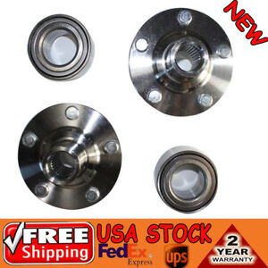 Set Of 2 Front Wheel Hub Bearing Assembly Kits Fit For Toyota Camry