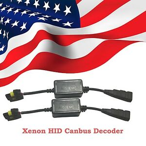 Xenon Hid Canbus Decoder Error Warning Canceller Capacitor Fit Ballast And Bulbs