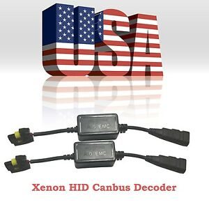 Xenon Hid Conversion Kit Canbus Error Free Decoder Warning Canceller Capacitor