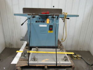 Delta Dj 15 37 150 6 Jointer Planer W rolling Base 120v
