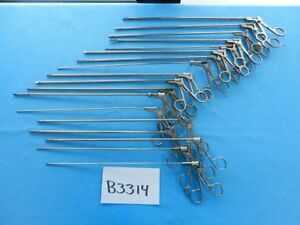 Olympus Storz V Mueller Surgical Laparoscopic Instruments Lot Of 18