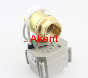 1 2 Dn15 Brass 2 Port Motorized Ball Valve Ac dc9 36v Cr202 2 Wires From Usa