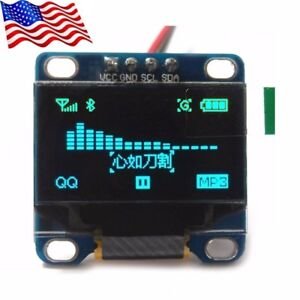 Diymall 0 96 Blue 128x64 Oled I2c Iic Serial Lcd Led Display Module