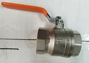 Century Ball Valve 2 Inch Threaded Chrome Plated Brass Full Port