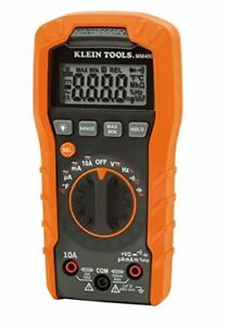 Klein Tools Mm400 Auto Ranging Digital Multimeter New Free Shipping