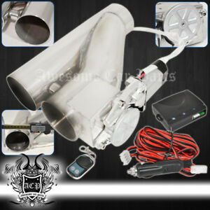 For Eagle 3 Exhaust Down Test Y Pipe Electric E Cutout Valve Switch Control