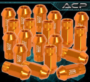 Racing Wheels Rims 20 Pcs 50mm Cone Seat Lug Nuts Pitch M12x1 5 Gold All Honda