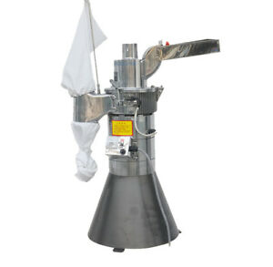 25kg h Automatic Continuous Herb Pulverizer Grinder Hammer Mill Df 25 110v Us Ca