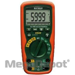 Extech Ex520 Ex500 Series Rms Industrial Multimeter