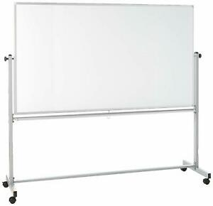 Offex 72x40 Double sided Magnetic Whiteboard 2 Pack W free Whiteboard Cleaner
