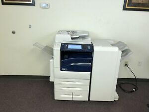 Xerox Workcentre 7970 Color Copier Machine Network Printer Scanner Fax Finisher