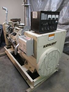 100 Kw Generator Natural Gas Propane 8 1 Gm Psi Low Hrs 100 Kw 12 Lead Katolight