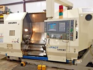 Okuma Lu15 my Impact 6 Axis Cnc Lathe milling y Axis Make Offer