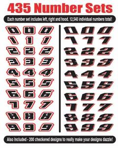 Awesome Race Car Number Vector Clip Art For Vinyl Sign Cutter Racing Only Here