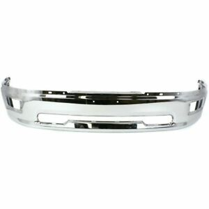 New Ch1002386 Front Bumper Face Bar W Fog Light Holes For Ram 1500 2011 2012