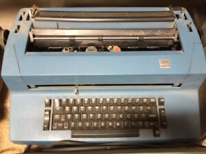Vintage 70s Ibm Selectric Ii Electric Typewriter needs Maintenance Or For Parts