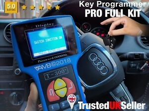 T300 V16 8 Car Key Fob Ecu Programmer Immobiliser Chip Programming Locksmith Kit