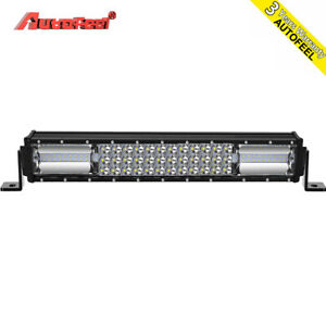 16inch 600w Led Light Bar Flood Spot Offroad Work Lights 4wd Truck Atv Ute 18