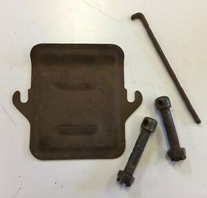 Ford Model A Bellhousing Inspection Plate Wishbone Bolts