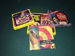lot of 3 super 8 film classic movies one