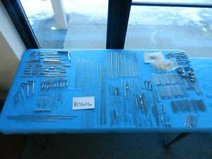 Aesculap Zimmer Synthes Wright Medical Surgical Orthopedic Instruments