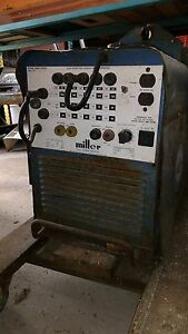 Miller Portable Welder Welding Generator 225 Amp Ac Dc Gas Powered