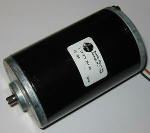 12 Vdc Big Hobby Motor 6000 Rpm High Current And High Starting Torque 160a
