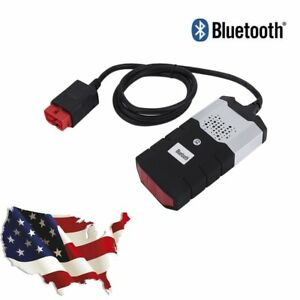 Us Stock Diagnostic Tool Scanner Kit Vci D Obd2 Obdii For Car Vehicle Bluetooth