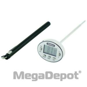 General Tools Dws350ssq Waterproof Stem Thermometer With Fast Response