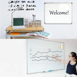 Lot 35 x23 Magnetic Writing Whiteboard Dry Erase Board eraser Office 2 Side Oy