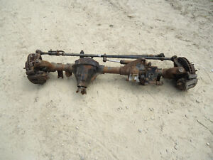 1990 1995 Jeep Wrangler Front Axle 3 07 Ratio Dana