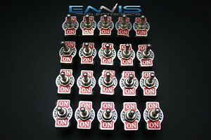 20 Pcs Toggle Switch Dpdt Center Off Toggle 6 Amp 250v 10 Amp 125v 6 Pin Ec 1510