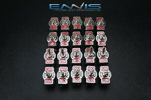 20pcs Toggle Switch Dpdt Center Off Toggle 10 Amp 250v 15 Amp 125v 6 Pin Ec 1515