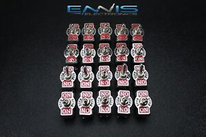 20pcs Toggle Switch Dpdt Center Off Toggle 10 Amp 250v 20 Amp 125v 6 Pin Ec 1520